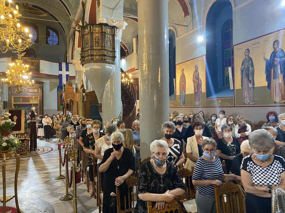 esp genesio 2021 4 - Ο εσπερινός του Γενεθλίου της Θεοτόκου στον Τύρναβο (φωτο)