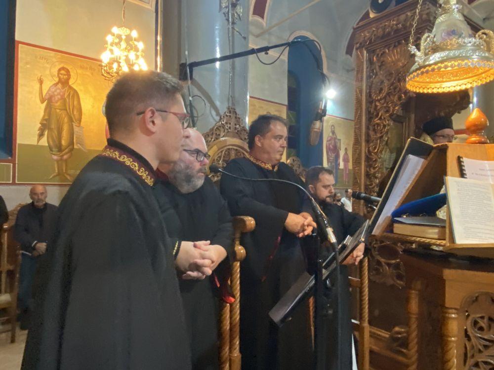 esp genesio 2021 5 - Ο εσπερινός του Γενεθλίου της Θεοτόκου στον Τύρναβο (φωτο)