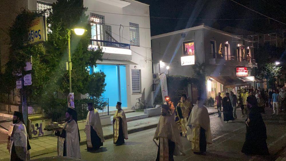 esp genesio 2021 7 - Ο εσπερινός του Γενεθλίου της Θεοτόκου στον Τύρναβο (φωτο)