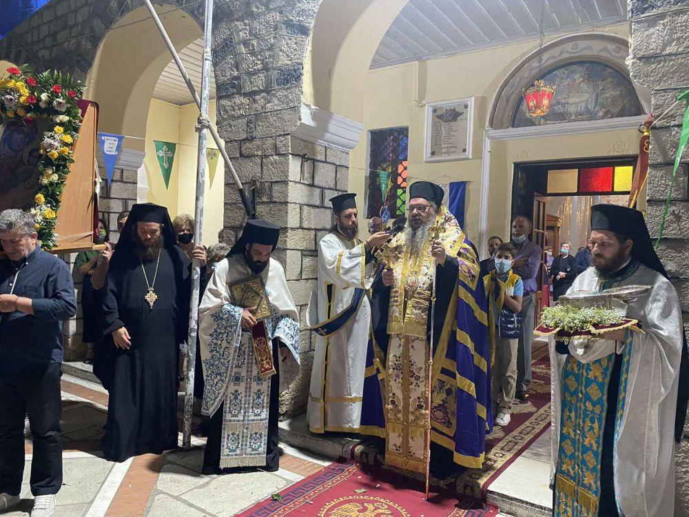 esp genesio 2021 8 - Ο εσπερινός του Γενεθλίου της Θεοτόκου στον Τύρναβο (φωτο)